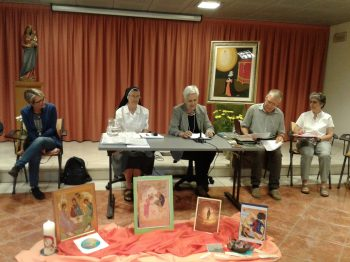 Lay persons intervening at the Provincial Congregation in Italy