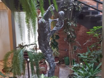 s sculpture at the Ad Gentes Centre