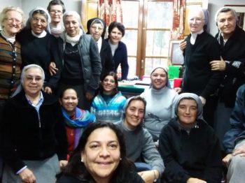 Die Teilnehmerinnen der argentinischen Provinzkongregation