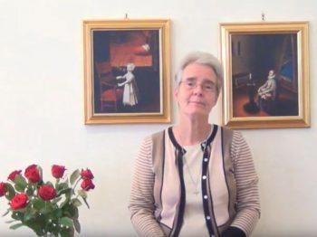 Welcoming video of Sr Jane Livesey CJ