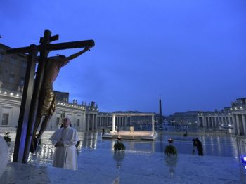 Full text of the Meditation by Pope Francis