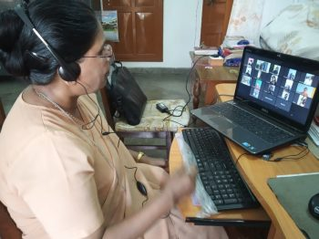 Online teaching in Allahabad Province