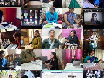 Die Rolle von Technologie während des Lockdowns Provinz Delhi