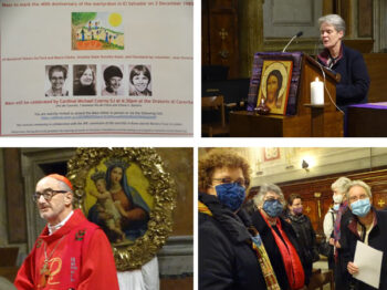 Eucharist to mark the 40th Anniversary of four women martyrs in El Salvador