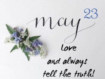 23 with Mary Ward