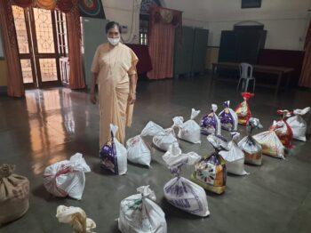 Provincia de Allahabad – Esfuerzos para llegar a los necesitados durante la segunda fase de Covid 19