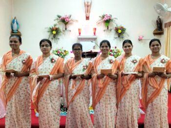 New postulants in Jhansi
